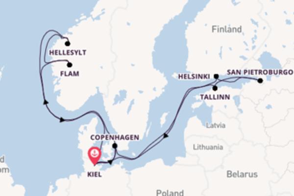Scopri Copenhagen e Kiel
