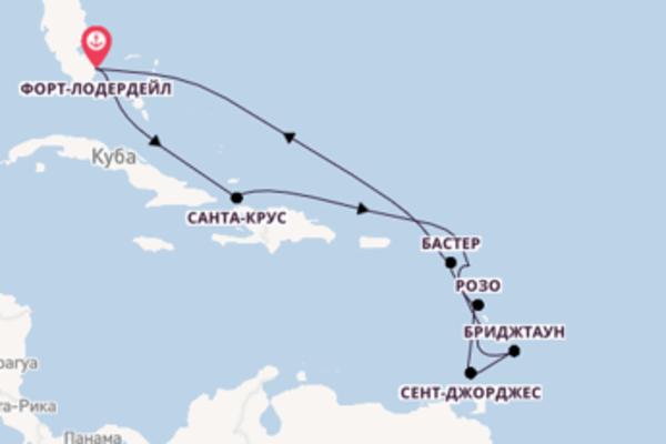 Восхитительный круиз на 13 дней с Celebrity Cruises
