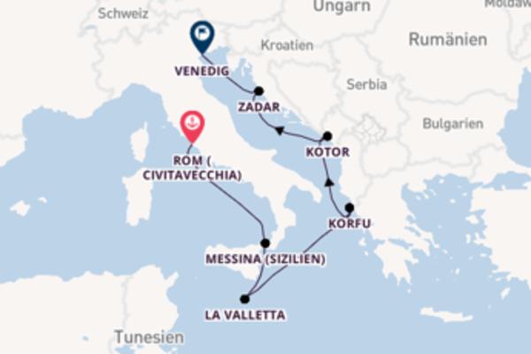 Faszinierende Reise nach Venedig