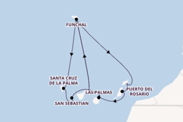 Begeisternde Reise mit der Mein Schiff 3