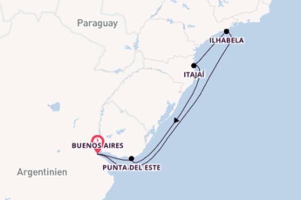 In 8 Tagen nach Buenos Aires