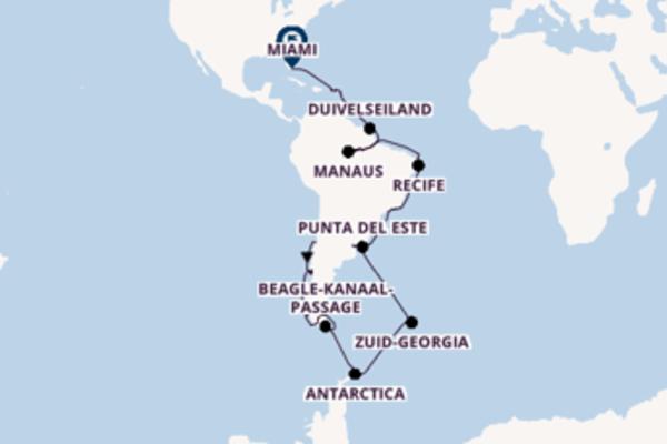 Vaar met de Seabourn Quest naar Miami