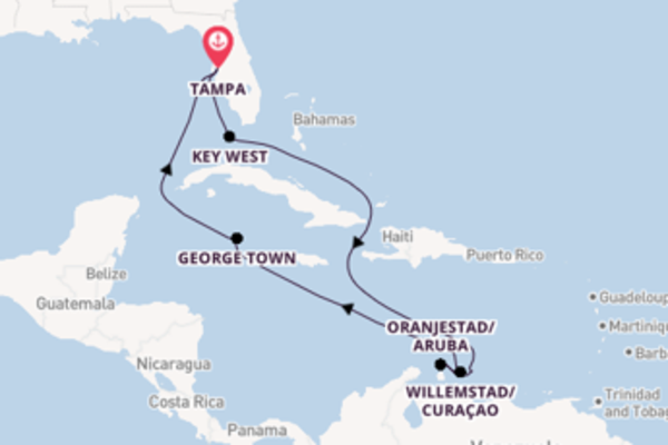 Voyage with Celebrity Cruises from Tampa