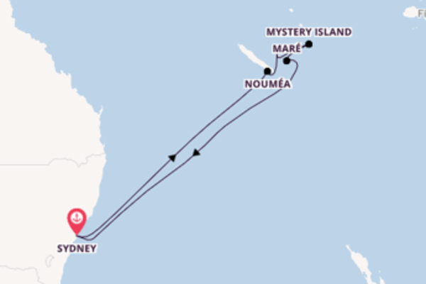 11 day sail from Sydney
