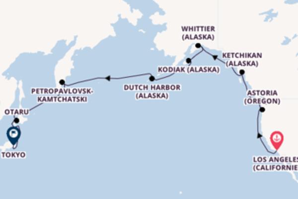 Divine croisière de 26 jours avec Oceania Cruises