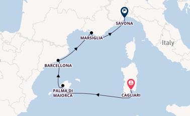 Spagna E Isole Baleari Cartina.Crociere Isole Baleari 2020 Offerte Tutto L Anno Dreamlines