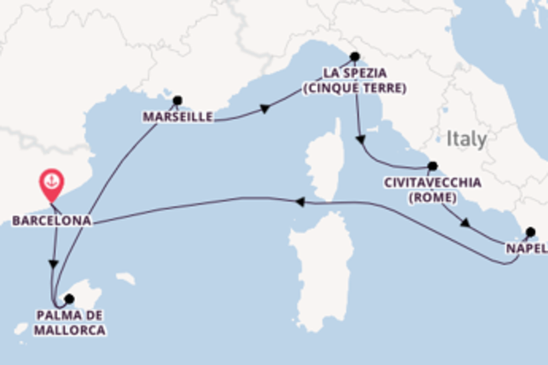 Ga mee op de Allure of the Seas® naar Barcelona