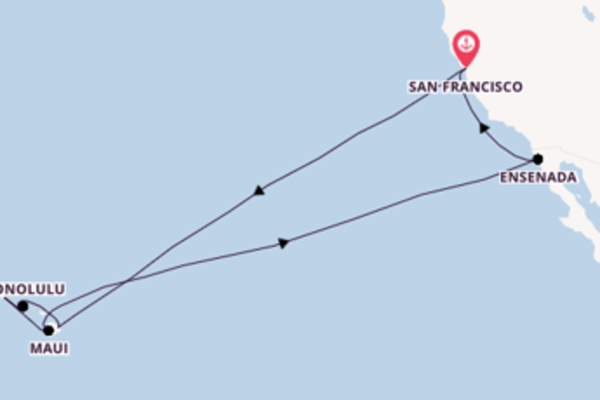 Cruise with Princess Cruises from San Francisco
