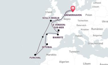An image of MS Deutschland ship
