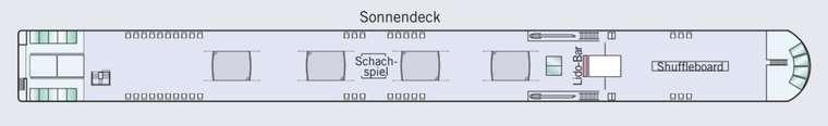 Amadeus Queen Sonnendeck