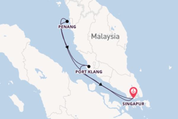 Erkunden Sie Penang auf der Quantum of the Seas
