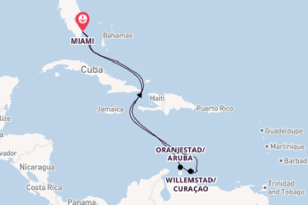 9 day cruise with the Explorer of the Seas to Miami