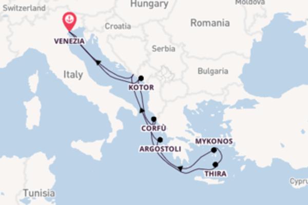 Viaggio di 8 giorni a bordo di Norwegian Dawn