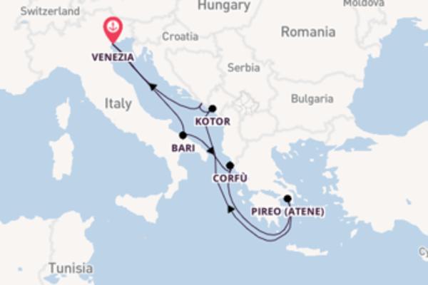 8 giorni da Venezia