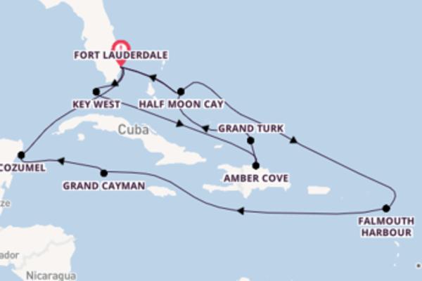 Meravigliosa crociera verso Fort Lauderdale