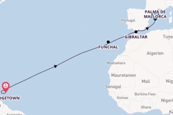 15 Tage Karibik Reise
