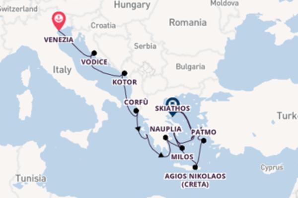 Salpando i mari da Venezia