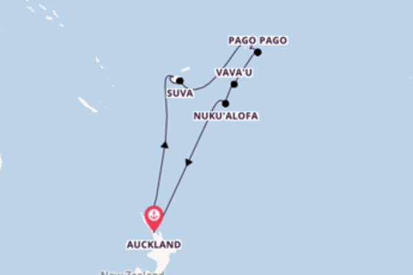 Travelling from Auckland via Apia