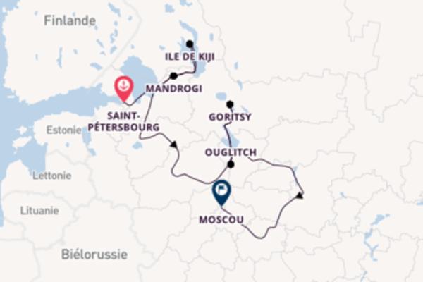 12 jours pour découvrir Goritsy, Russie au départ de Saint-Pétersbourg, Russie