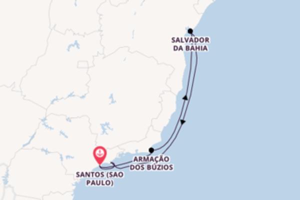 7 Tage auf der Costa Fascinosa verbringen