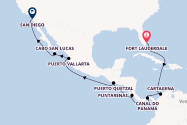 Belo cruzeiro até San Diego