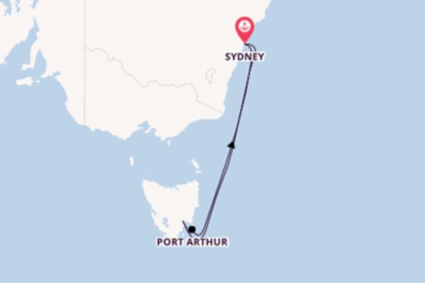Einzigartige Reise ab Sydney