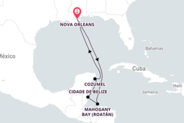 Espetacular viagem com a Carnival Cruise Line