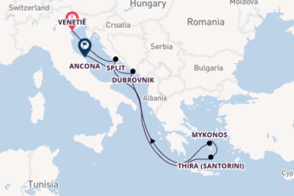 Cruise naar Ancona via Split