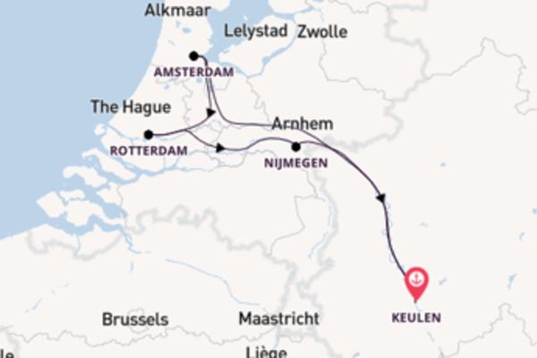 5-daagse cruise vanaf Keulen