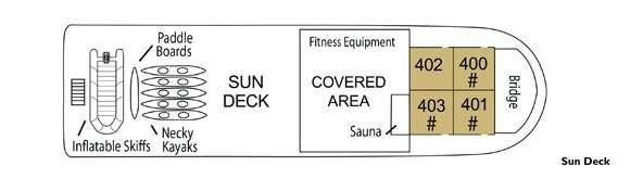 Wilderness Discoverer Sun Deck