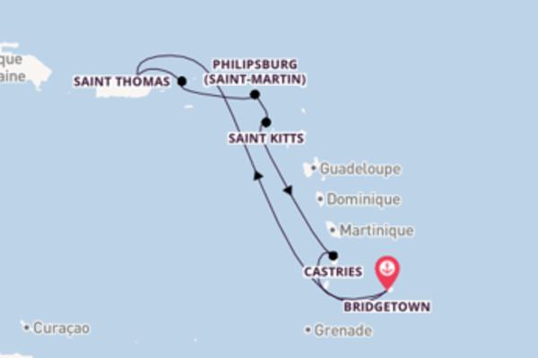 Authentique croisière de 8 jours avec Carnival Cruise Lines