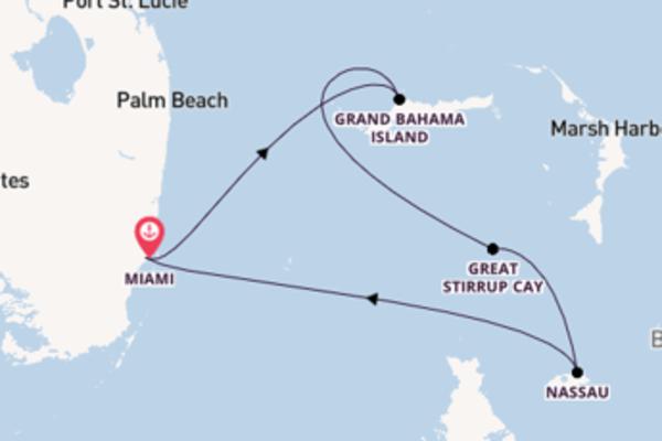 In 5 Tagen nach Miami