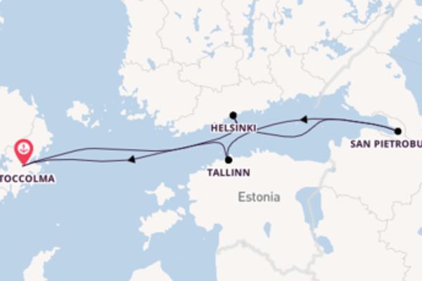 Stupendo viaggio di 8 giorni verso Stoccolma