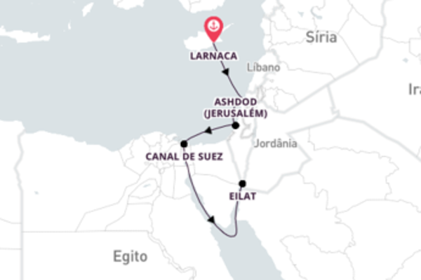 Descubra o melhor do Oriente Médio