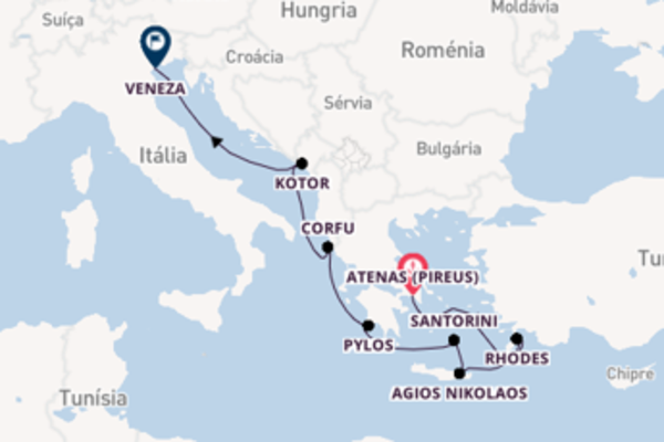 Charmoso cruzeiro de 11 dias até Veneza
