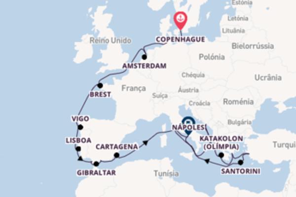 Admirável viagem de 25 dias a bordo do Nieuw Statendam
