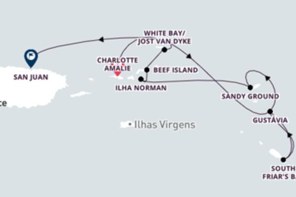 Cruzeiro de 8 dias a bordo do SeaDream II