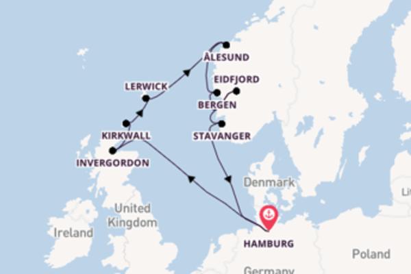 Beleef het sensationele Ålesund in 12 dagen