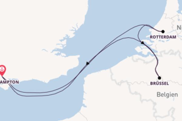 5 Tage Westeuropa Reise