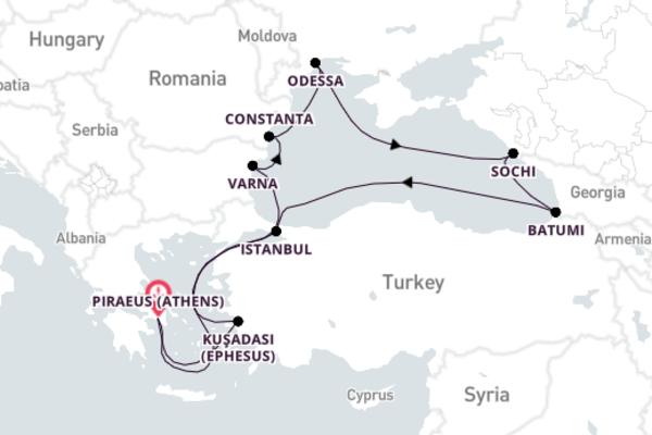 Historic Istanbul Escape with Azamara Club Cruises