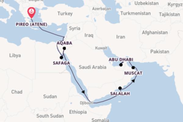19 giorni verso Dubai passando per Safaga