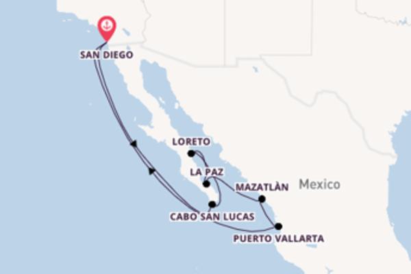 Ontdek La Paz met Holland America Line