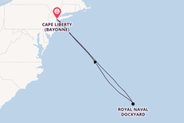 Cruise with Royal Caribbean from Cape Liberty , New Jersey