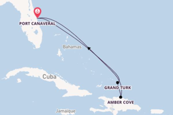 Somptueuse virée de 6 jours depuis Port Canaveral