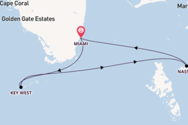 Trip from Miami with the Celebrity Infinity