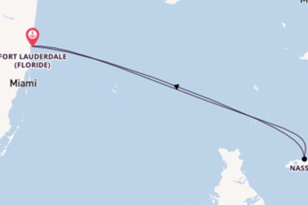 Nassau, depuis Fort Lauderdale à bord du bateau Celebrity Equinox
