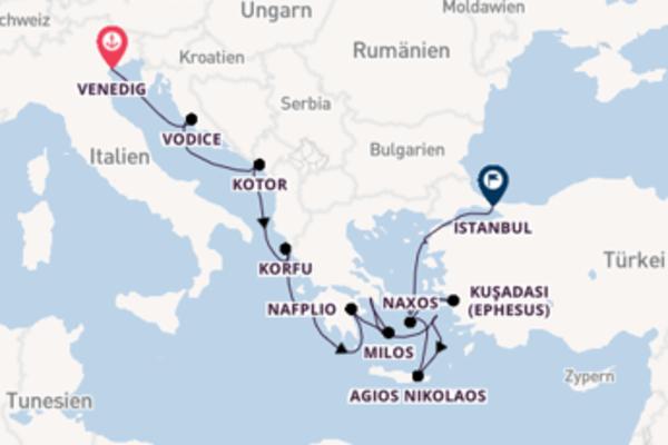 In 15 Tagen nach Istanbul
