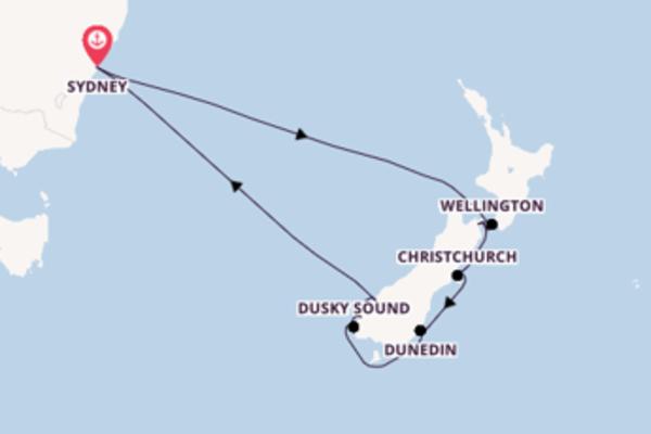 11-daagse reis aan boord van de Serenade of the Seas®