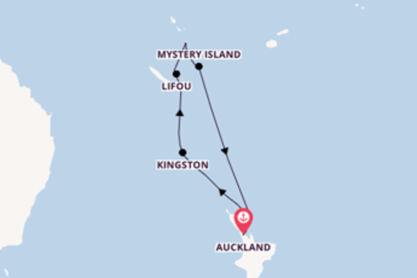 10 day cruise from Auckland