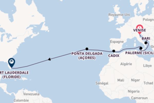Croisière de 20 jours vers Fort Lauderdale (Floride) avec Princess Cruises